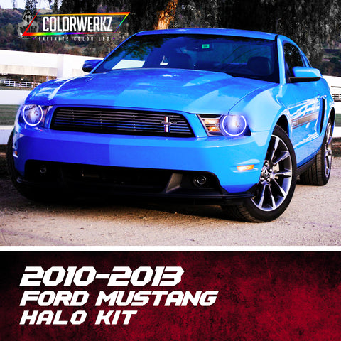2010-2013 Ford Mustang Halo Kit