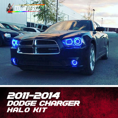 2011-2014 Dodge Charger Halo Kit