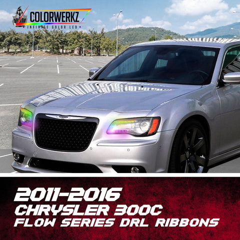 2011-2016 Chrysler 300C Flow Series DRL Ribbons
