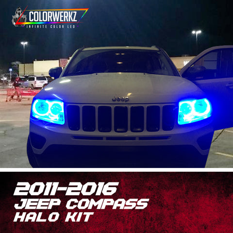 2011-2016 Jeep Compass Halo Kit
