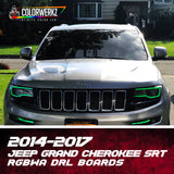 2014-2017 Jeep Grand Cherokee SRT RGBWA DRL Boards