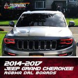 2014-2017 Jeep Grand Cherokee RGBWA DRL Boards