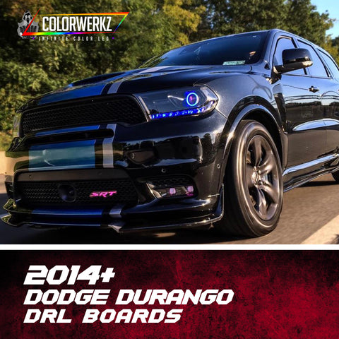2014+ Dodge Durango RGBWA DRL Boards