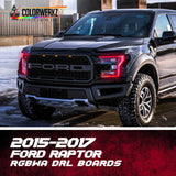 2015-2017 Ford Raptor RGBWA DRL Boards