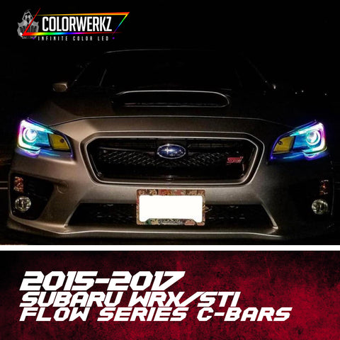 2015-2017 Subaru WRX/STI Flow Series C-Bar Halos