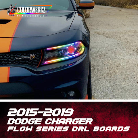 2015-2019 Dodge Charger Flow Series Drl