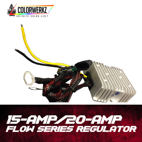 15-Amp or 20-Amp Flow Series Regulator
