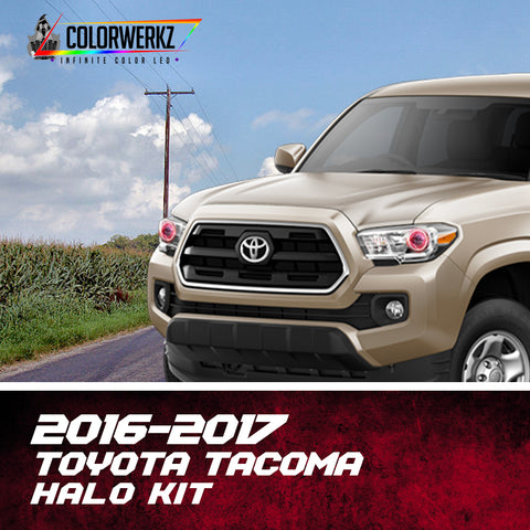 2016-2017 Toyota Tacoma Halo Kit
