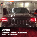 2018 Jeep Trackhawk DRL Boards