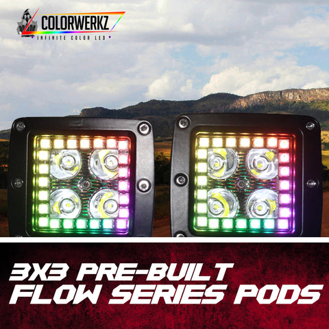 3x3 Flow Series Pods