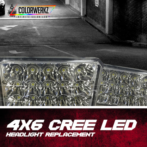 4x6 CREE LED Headlight Replacement