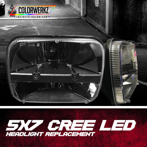 5x7 CREE LED Headlight Replacement