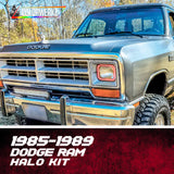 1985-1989 Dodge Ram Halo Kit