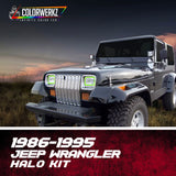1985-1996 Jeep Wrangler Halo Kit