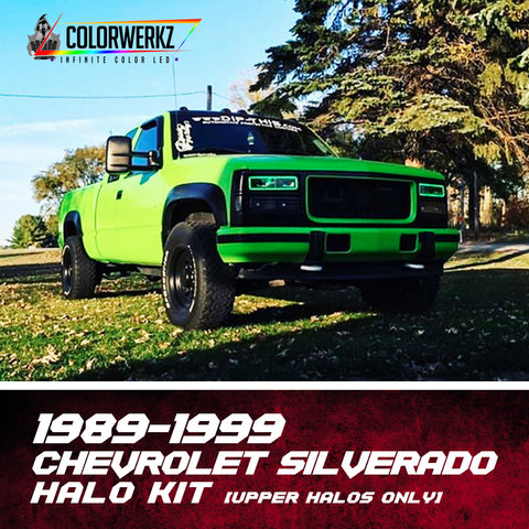 1989-1999 Chevrolet Silverado Halo Kit (Upper Halos Only)