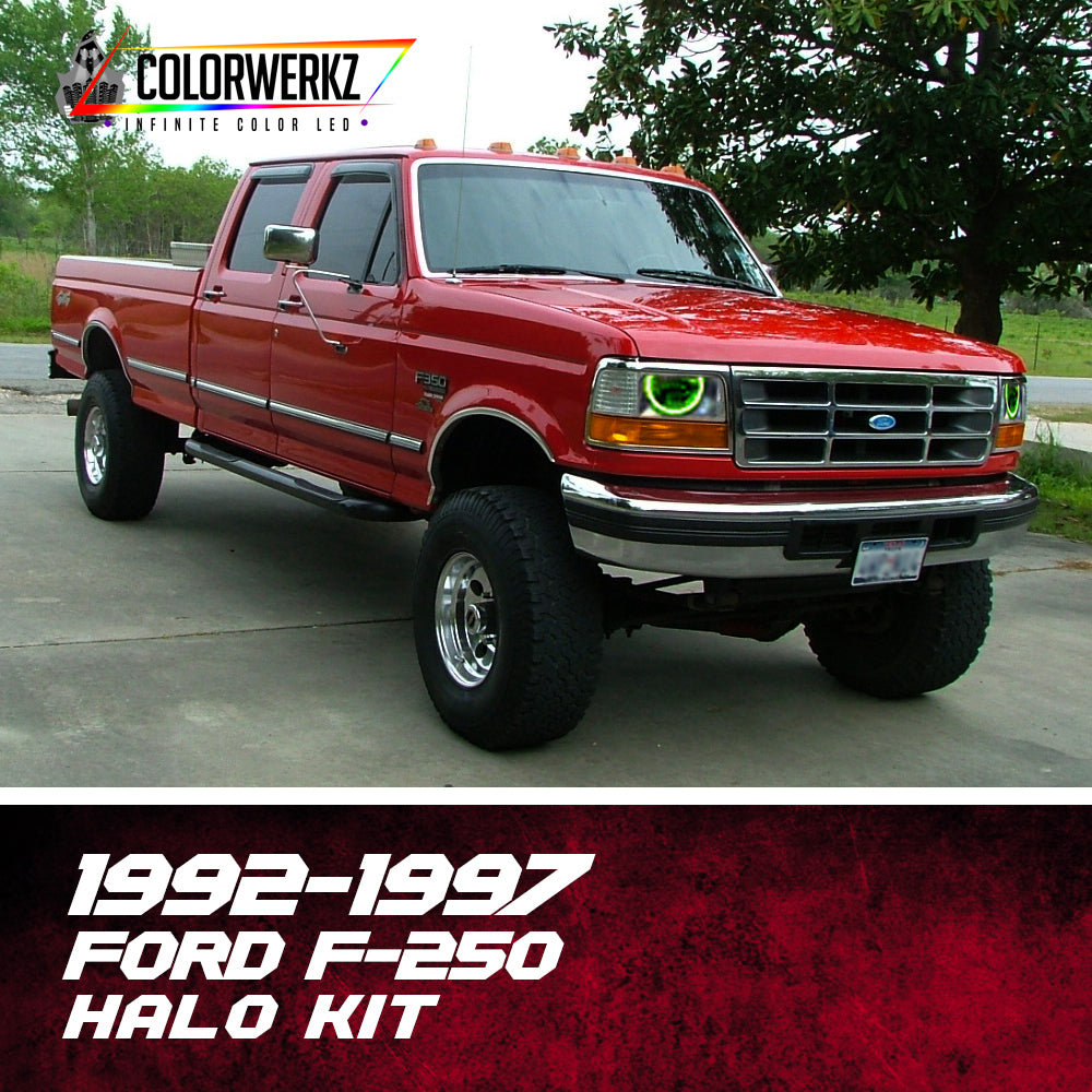 1992 1997 ford f 250 halo kit