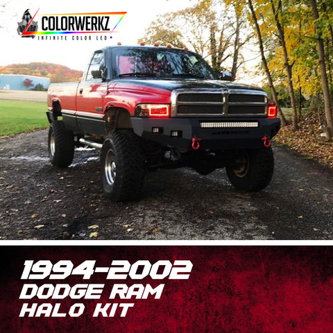1994-2002 Dodge Ram (2nd Gen) Halo Kit