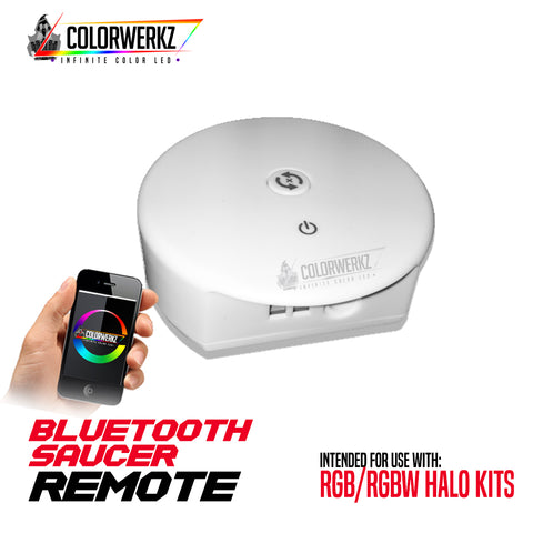 RGB/RGBW Bluetooth Saucer Remote