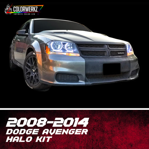 2008-2014 Dodge Avenger Halo Kit