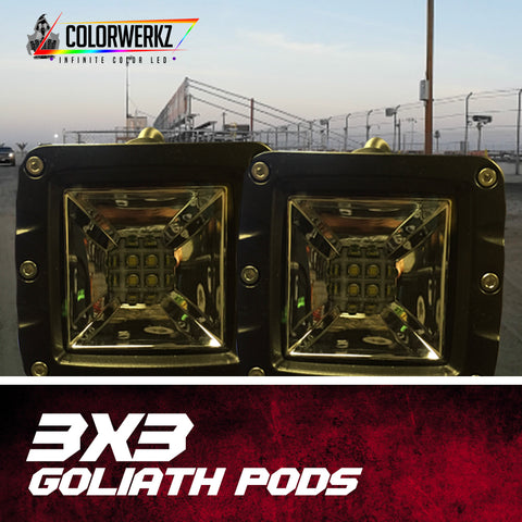 3x3 Goliath Series Pods