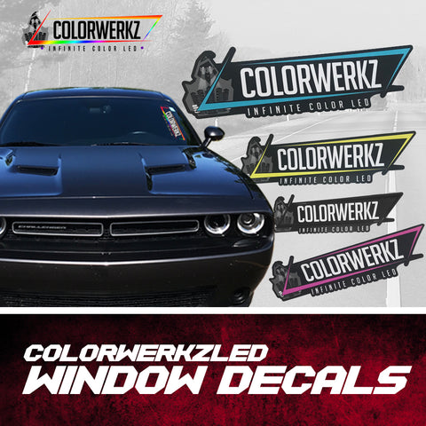 ColorwerkzLED Window Decals