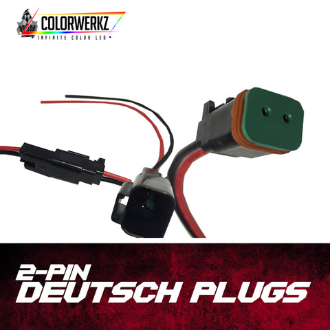 2-Pin Deutsch Plugs