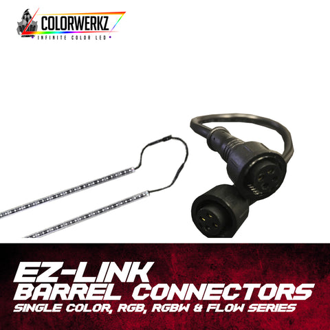 EZ-Link Barrel Connectors