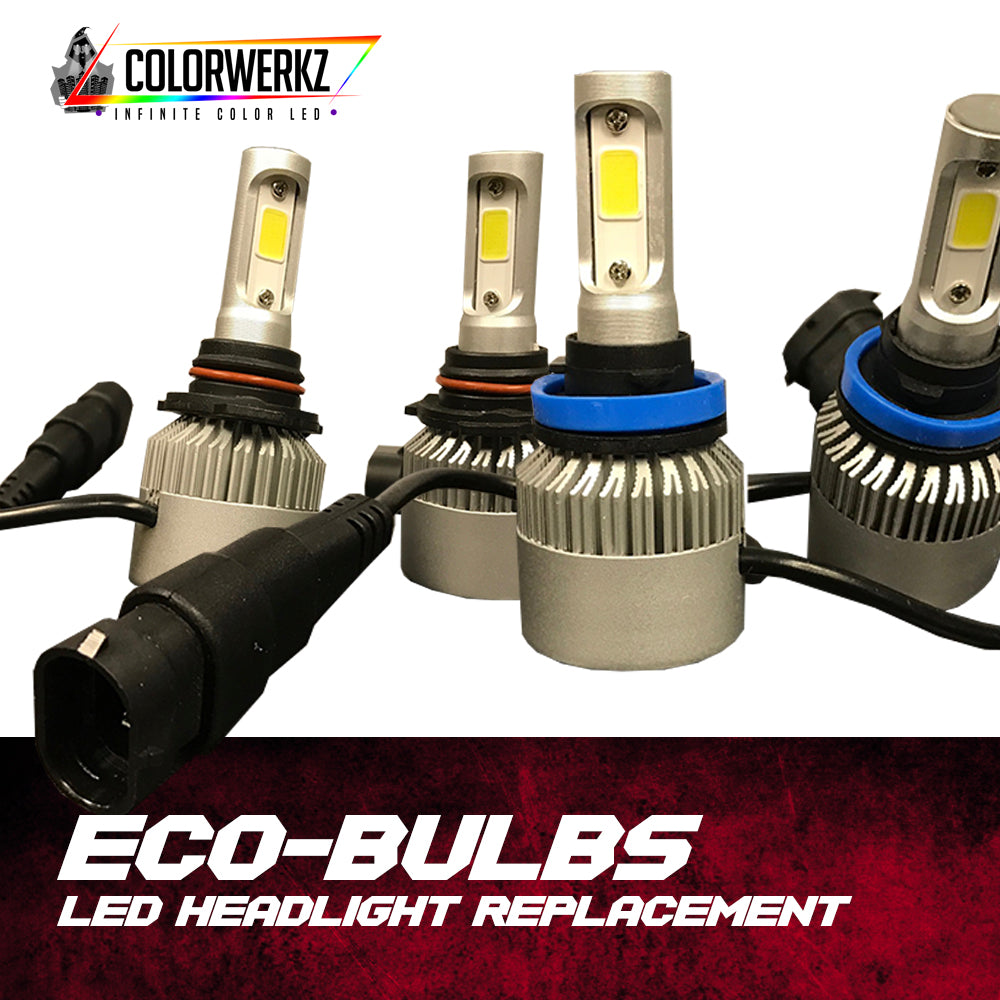 Eco Bulb Led Headlight Replacement Colorwerkzled