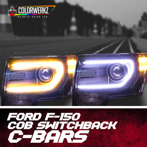 Ford F-150 COB Switchback C-Bars