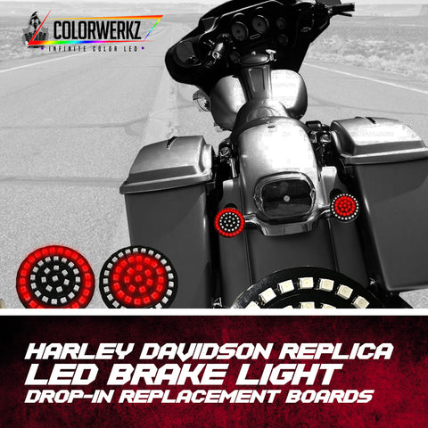 Harley Davidson Replica Rear Brake Light / Turn Signal Replacement Boards