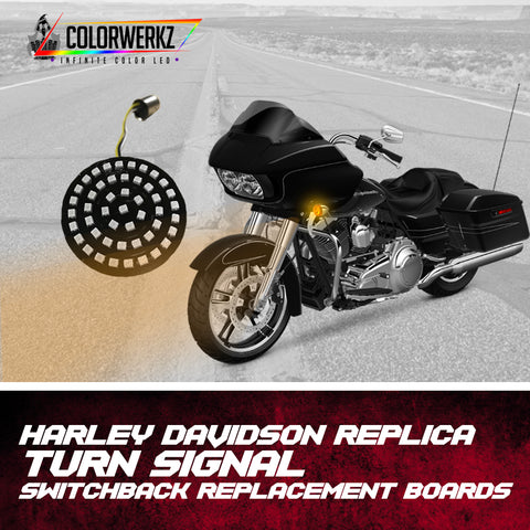 Harley Davidson Replica Turn Signal Switchback Replacement Boards