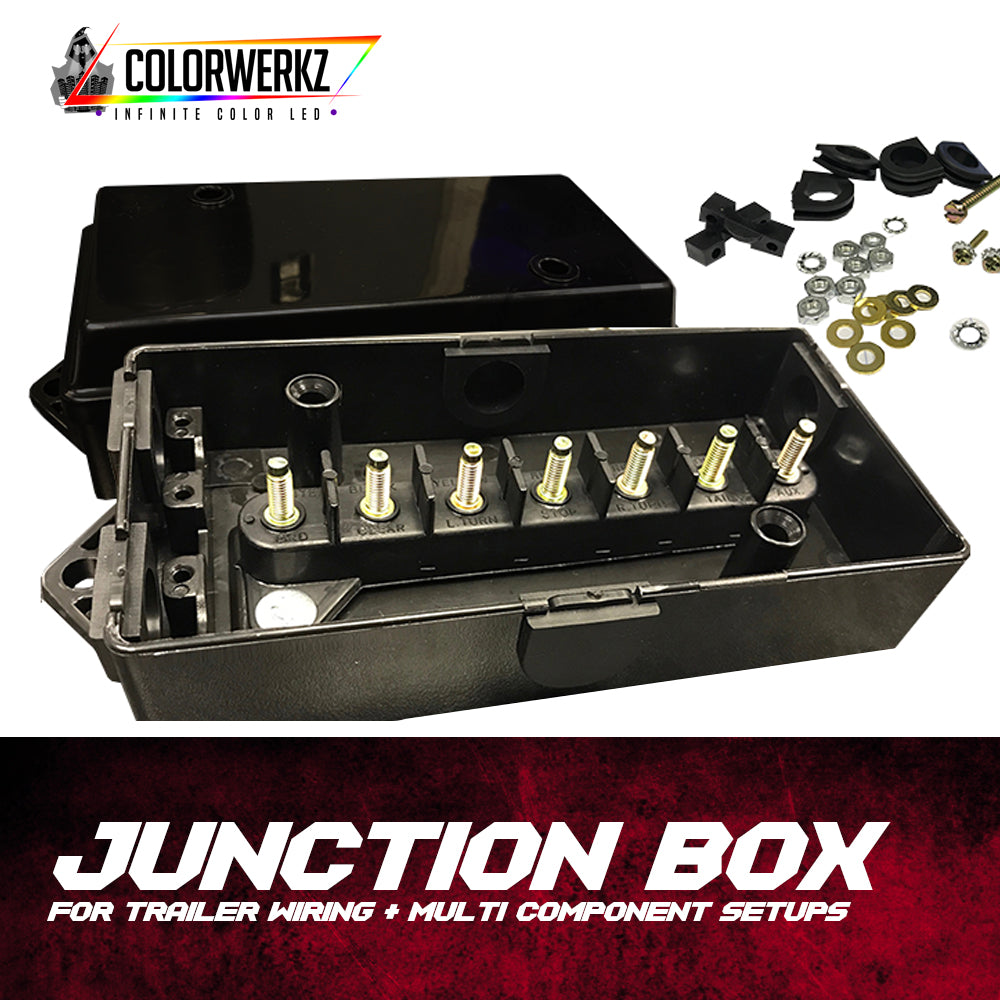 Junction Box For Trailer Wiring Multi Component Setups Boxes