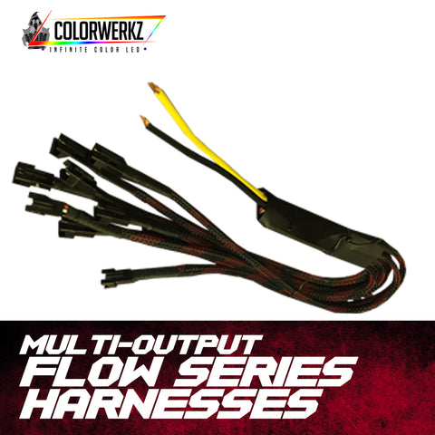 Multi-Output Flow Series Harnesses