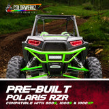 Pre-Built Polaris RZR Flow Series Headlights