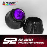 S2 Projector Shrouds (Black or Chrome)