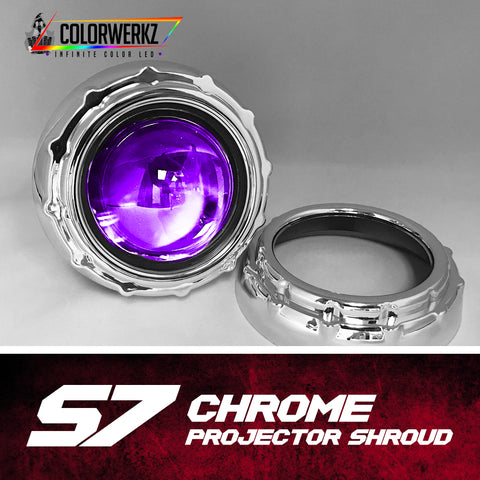 S7 Projector Shrouds (Black or Chrome)