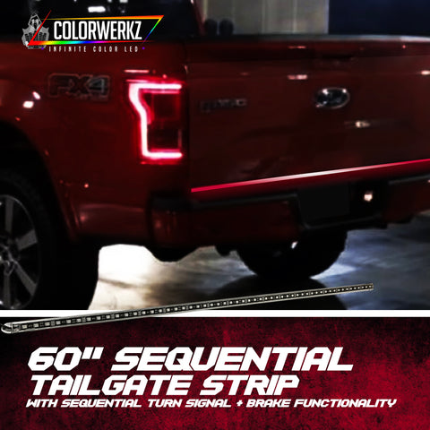 Sequentail Tailgate/Trunk Strip