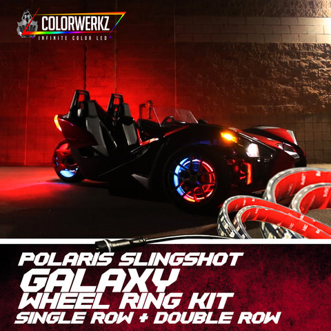 Polaris Slingshot Galaxy Wheel Ring Kit