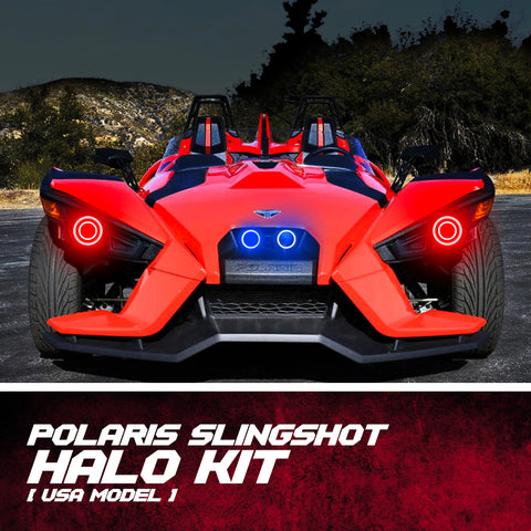 Polaris Slingshot Ring Halo Kit (USA Model)