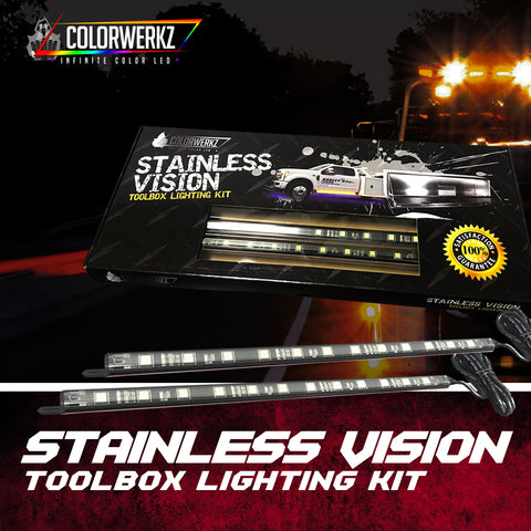 Stainless Vision Toolbox Lighting Kit