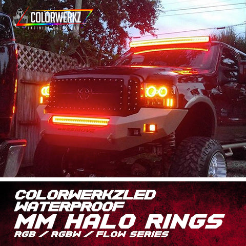 Waterproof MM Halo Rings