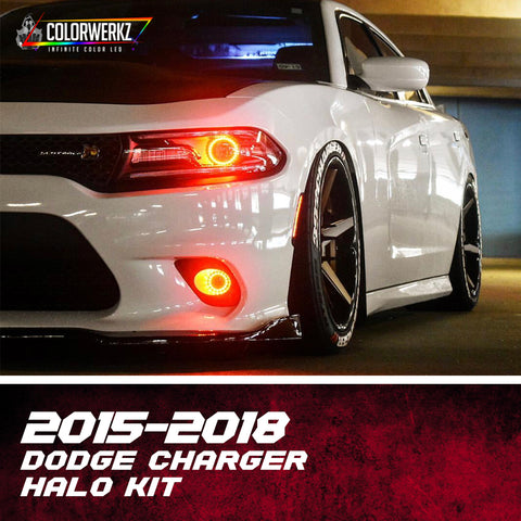 2015+ Dodge Charger Halo Kit