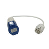16amp 230V Coupler to 16amp Euro Plug