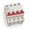 100amp 4pole 4mod Din rail mounted Isolator