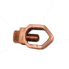 "Earth Rod Clamp 5/8"" (heavy duty)"