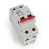 100amp 2pole 2mod Din rail mounted Isolator