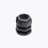 M40 Black Compression Gland / L-nut (22mm - 32mm cable entry)