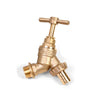 "3/4"" Brass Bib Tap Without Double Check Valve"