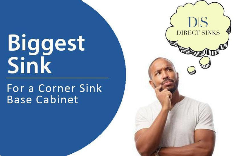 Biggest Sink For A Corner Sink Base Cabinet Corner Kitchen Sink