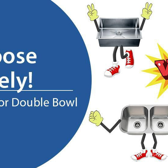 Double or Single Bowl, Choose Wisely!-DirectSinks